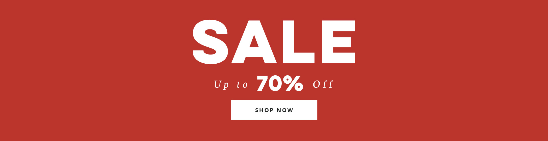 Site wide sale